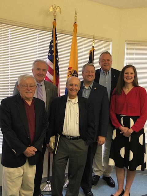 NJRRA Visits Assemblyman Dan Benson